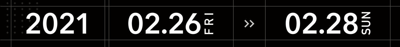 2021年2月26日〜28日 ライブ配信