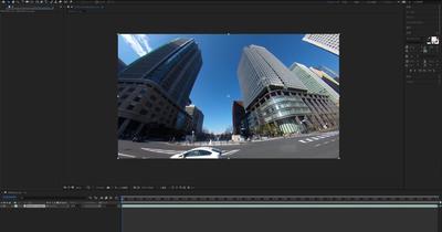 AfterEffectsのデフォルトのエフェクトで映像のノイズを軽減させる